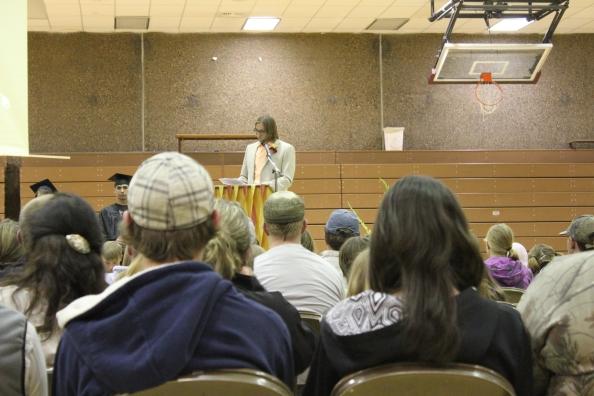 Granite High School Commencement speech